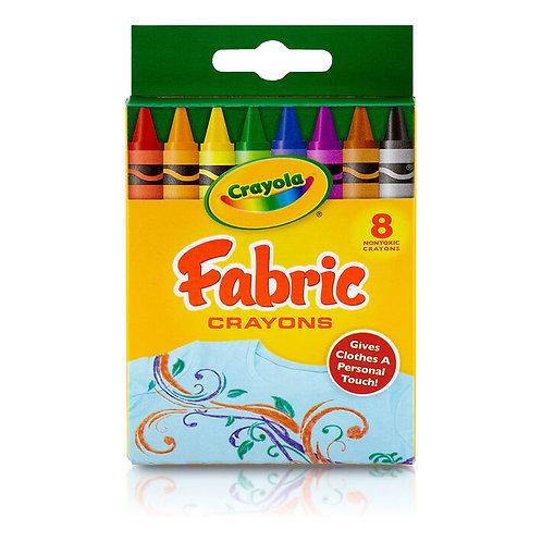 Crayola Fabric Crayons 8Ct