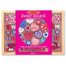 Melissa & Doug Wooden 'Sweet Hearts' Bead