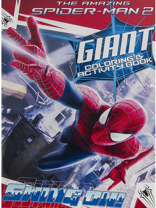 The Spiderman 2 Giant Coloring and Activity Book