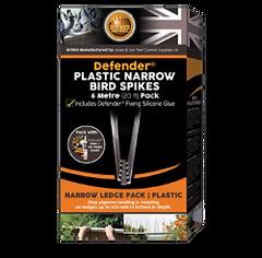 Defender Bird Spikes - Plasic Narrow Bir