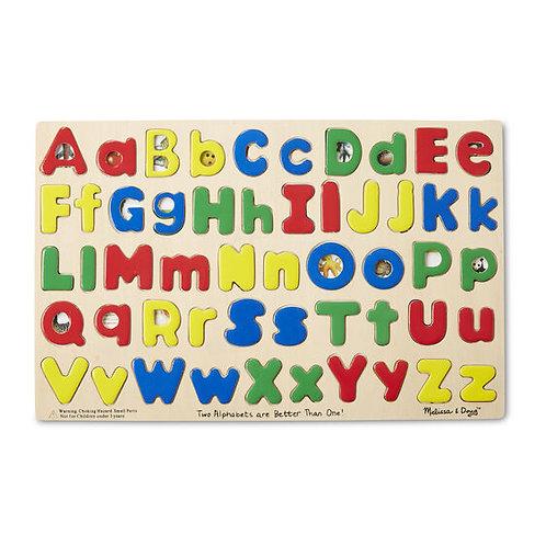 Upper Case and Lower Case Alphabet Puzzle