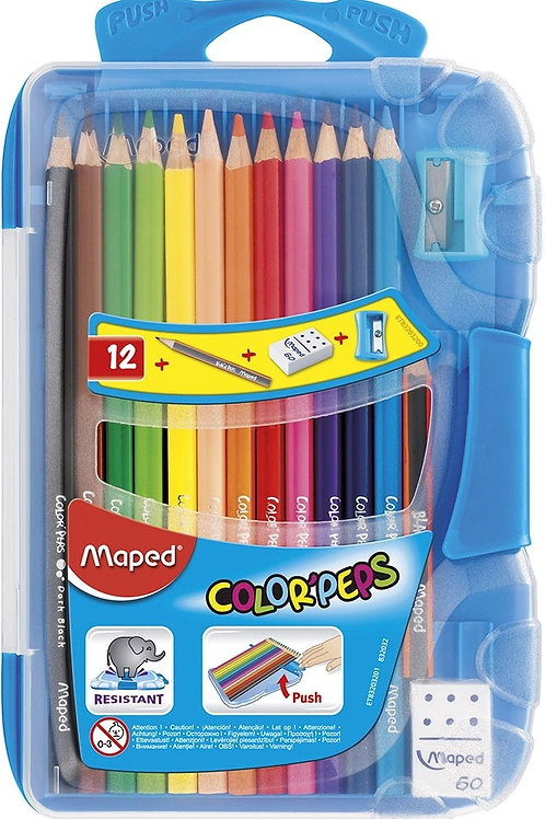 Maped Smart Box - colour pencils With Accessories