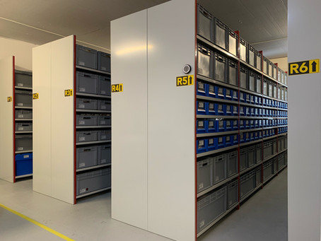 How to organize an aviation spare parts warehouse