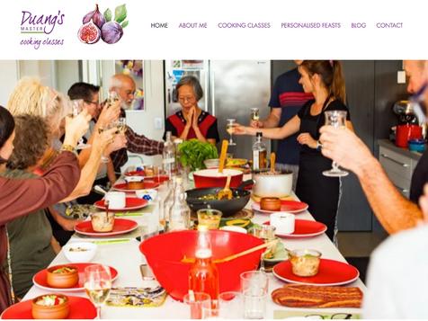 Duang's Cooking Website Live!
