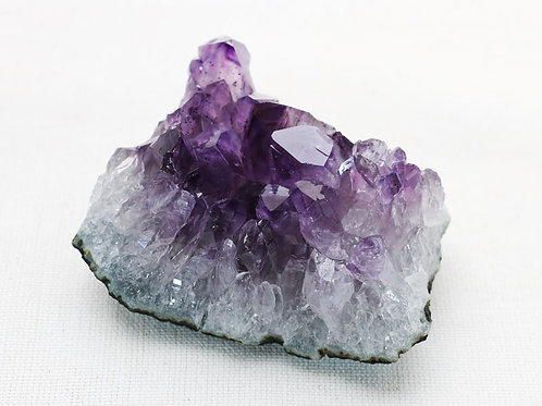 Amethyst cluster - width 75mm by 40mm high by 50mm deep
