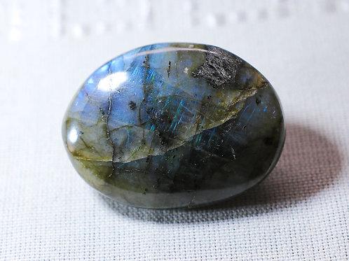Labradorite pebble - width 55mm by 40mm deep