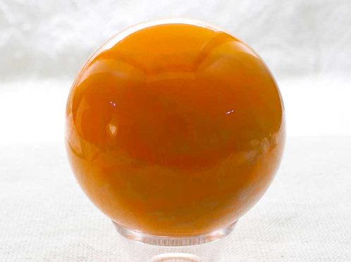 Orange Calcite Sphere - 50mm diameter
