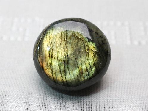 Labradorite pebble - width 55mm by 55mm deep