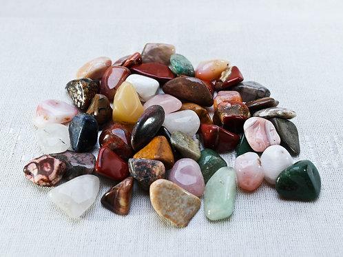 Tumbled Gemstones mix - 500gm