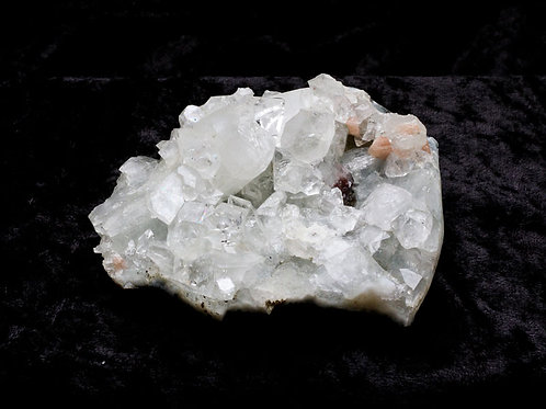 Apophyllite and Stilbite - width 100mm by 80mm deep