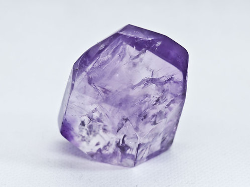 Amethyst facet stone - height 45mm