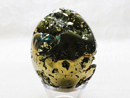 Pyrite Egg - width 45mm by 60mm high