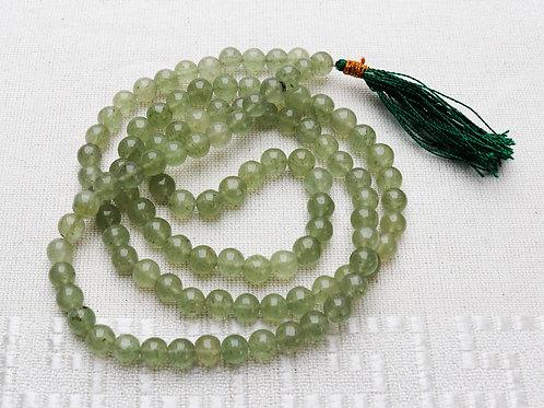 Green Aventurine Gemstone Mala Beads