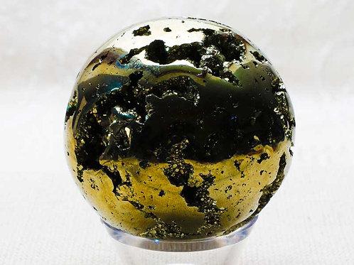 Pyrite Sphere - 48mm diameter