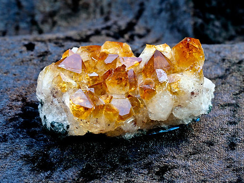 Citrine cluster - width 65mm by 25mm high by 40mm deep