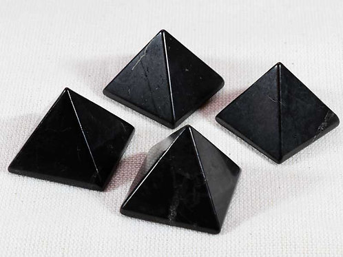Shungite Pyramid - width 40mm by 30mm high