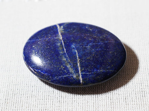 Lapis Lazuli Palmstone - width 60mm by 40mm deep