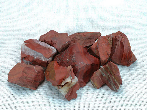 Rough Red Jasper - 250gm