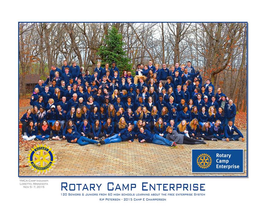 2015 Camp E Group Photo
