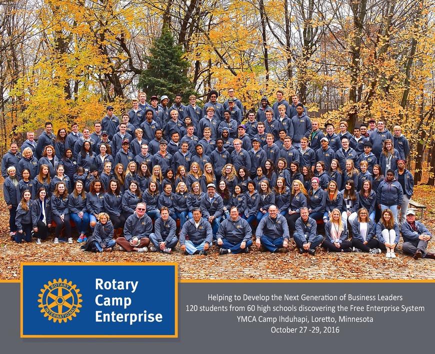 2016 Camp E Group Photo