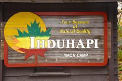 Camp Ihduhapi Signage