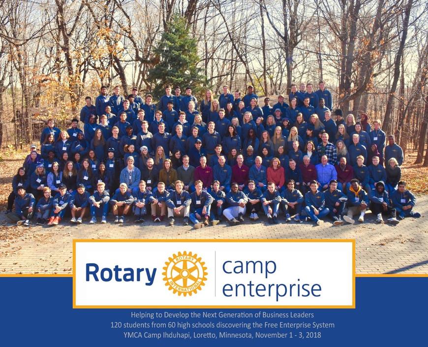 2018 Camp E Group Photo