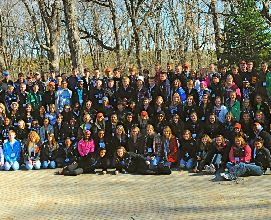 2010 Camp E Group Photo