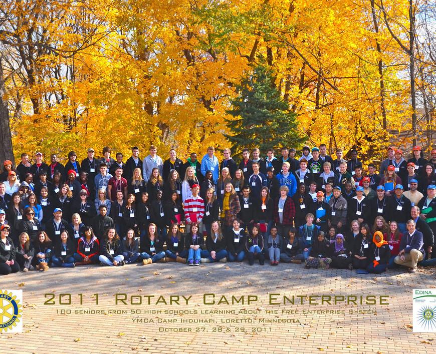 2011 Camp E Group Photo