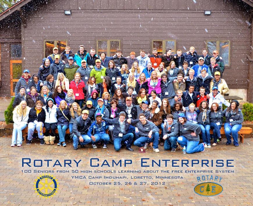 2012 Camp E Group Photo
