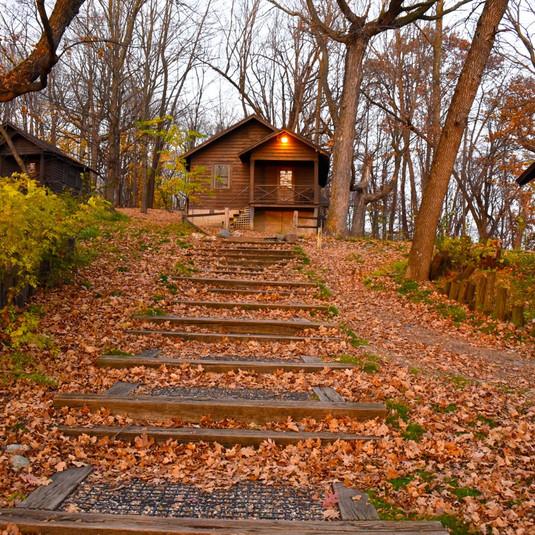 Camp Ihduhapi Cabin