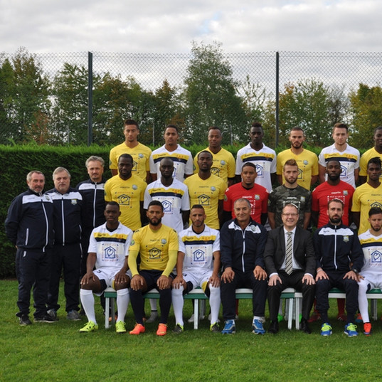 Photo officielle AS Poissy 15-16