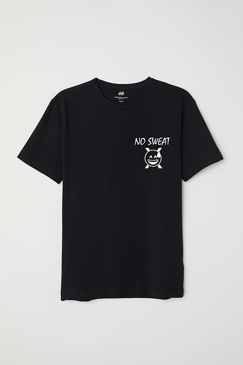 No Sweat Tee Black