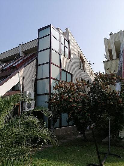 Cam Kaplamalı Villa Asansörü