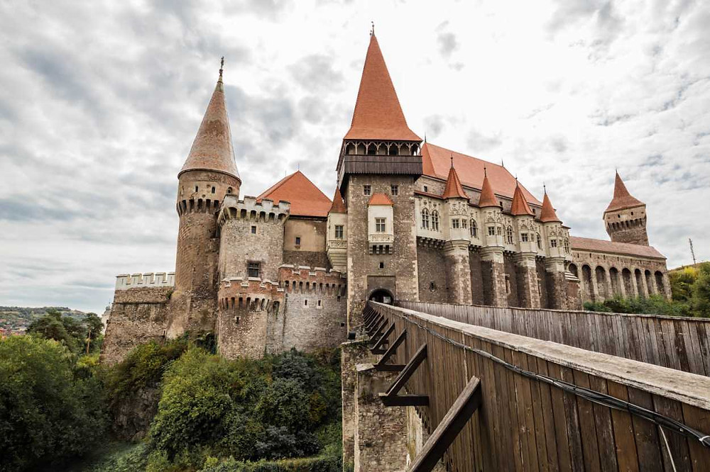 Citadelle Hunedoara, Roumanie