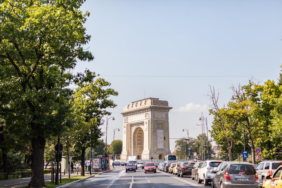 Arcul de Triumf Bucarest, Roumanie