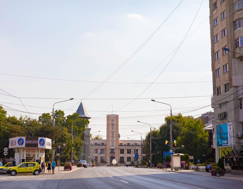 Parc du Centre Ville de Bârlad, Roumanie
