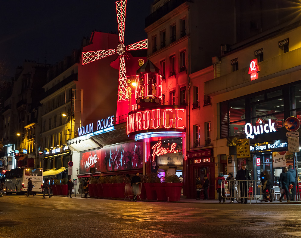 Moulin-Rouge, Paris, France