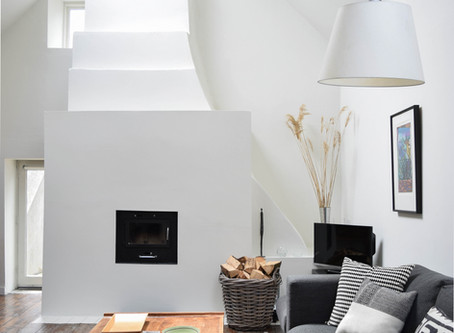 Interior Design at Ballilogue, Ireland