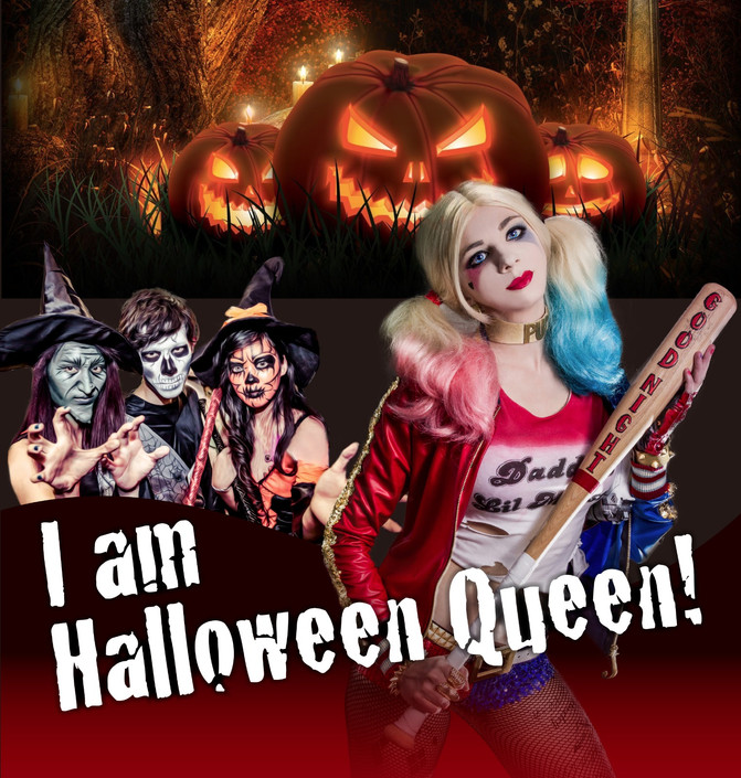 I am Halloween Queen! 萬聖節女王妝前護膚大法