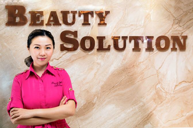 「美容就是保養, 只要底層肌膚養得好,淡妝素顏也得宜。」——Beauty Solution 香港旗艦店總經理 Stephanie Tsang