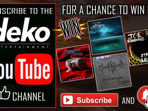 Enter The Deko Entertainment Rock Bundle Giveaway