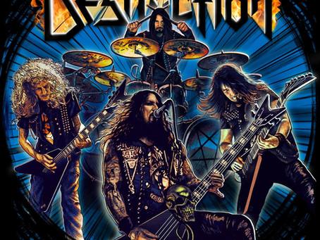 """DESTRUCTION """"Born To Thrash"""" (PRESS: knac.com)"""