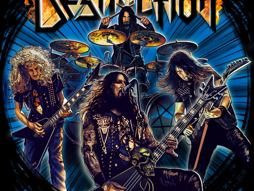 "DESTRUCTION ""Born To Thrash"" (PRESS: knac.com)"