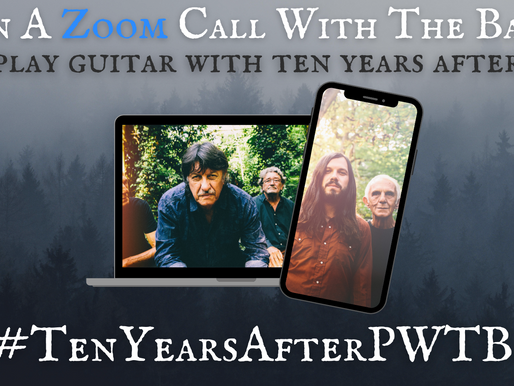 Now's Your Chance To Play Guitar With Iconic Rock Band Ten Years After!