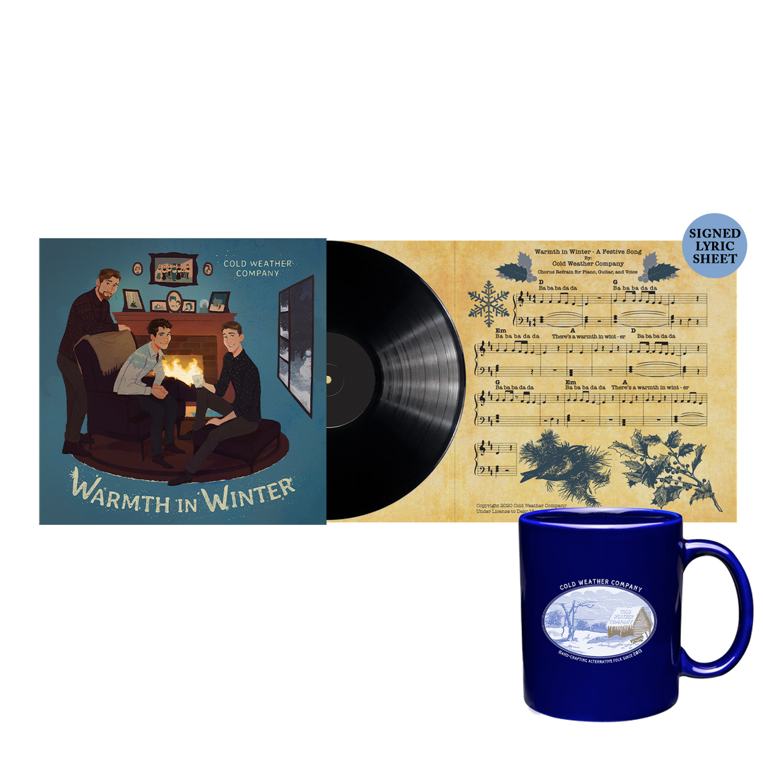 "Cold Weather Company - Warmth in Winter 7"" LP + Mug"