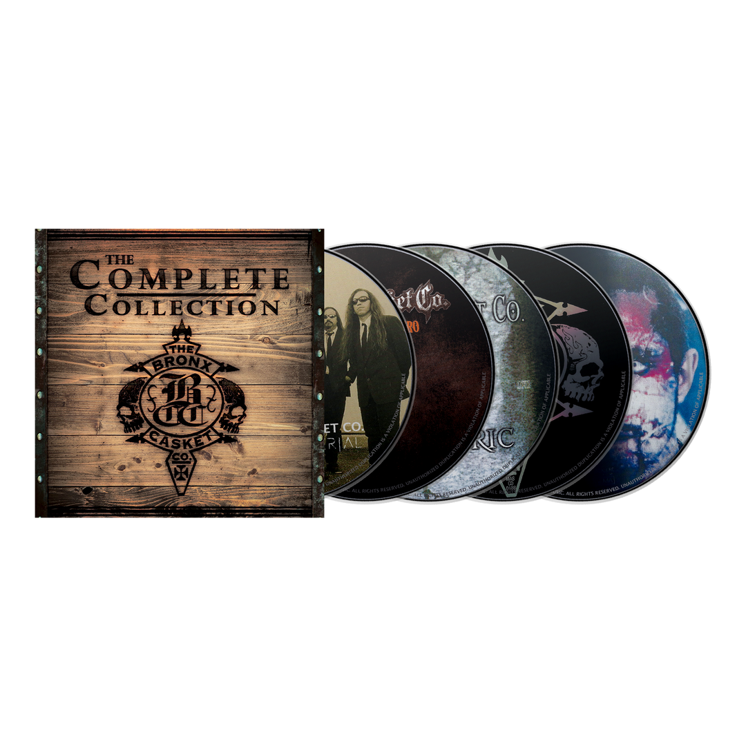"THE BRONX CASKET CO. ""The Complete Collection"" CD Boxset"