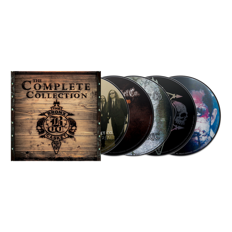 """THE BRONX CASKET CO. """"The Complete Collection"""" CD Boxset"""