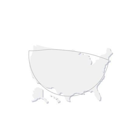 Estimate the area of the United States