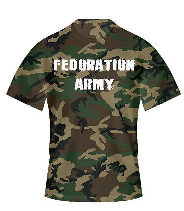 """Fedoration Army"" t-shirt"