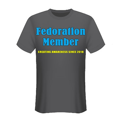 """Fedoration Member"" t-shirt"